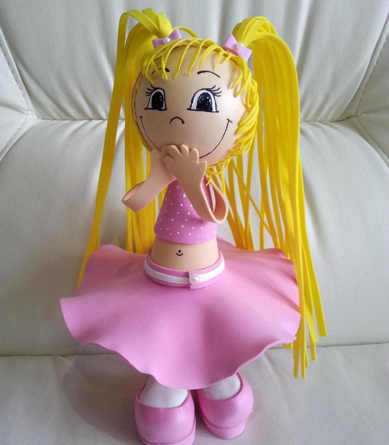 Объёмная кукла