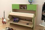 Мебель, которая перевернет интерьер: двухъярусная  кровать с диваном и способы организации пространства с ее помощью
