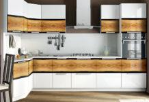 Дизайн угловых кухонь: фото