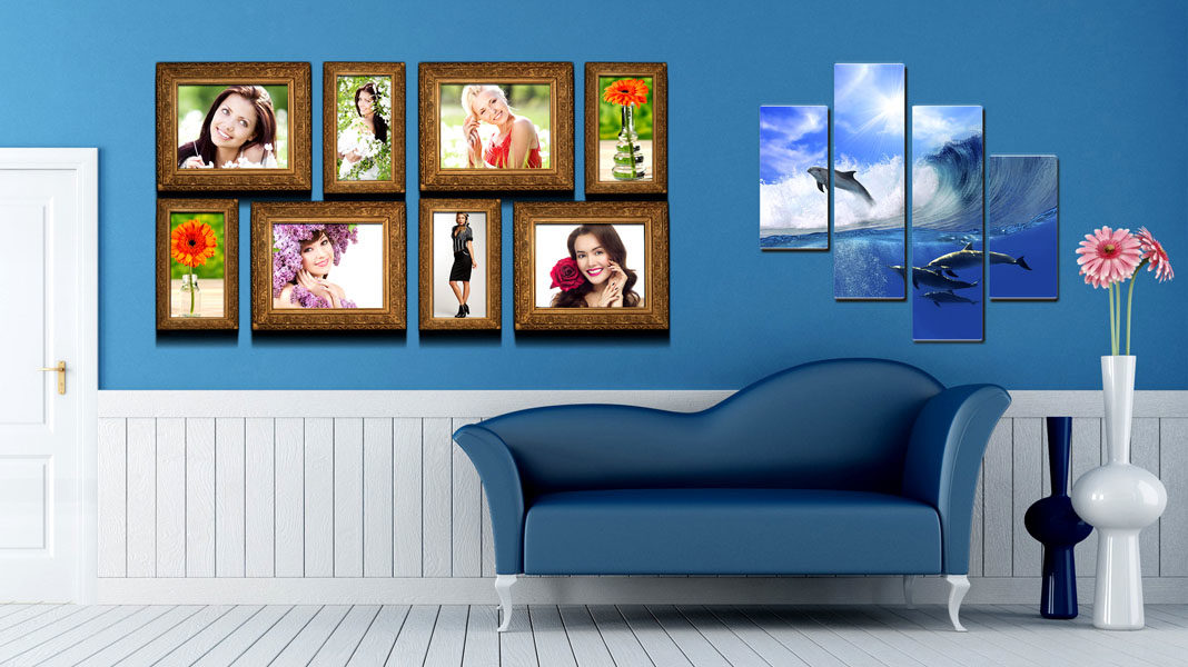 Рамки для фотографий на стену
