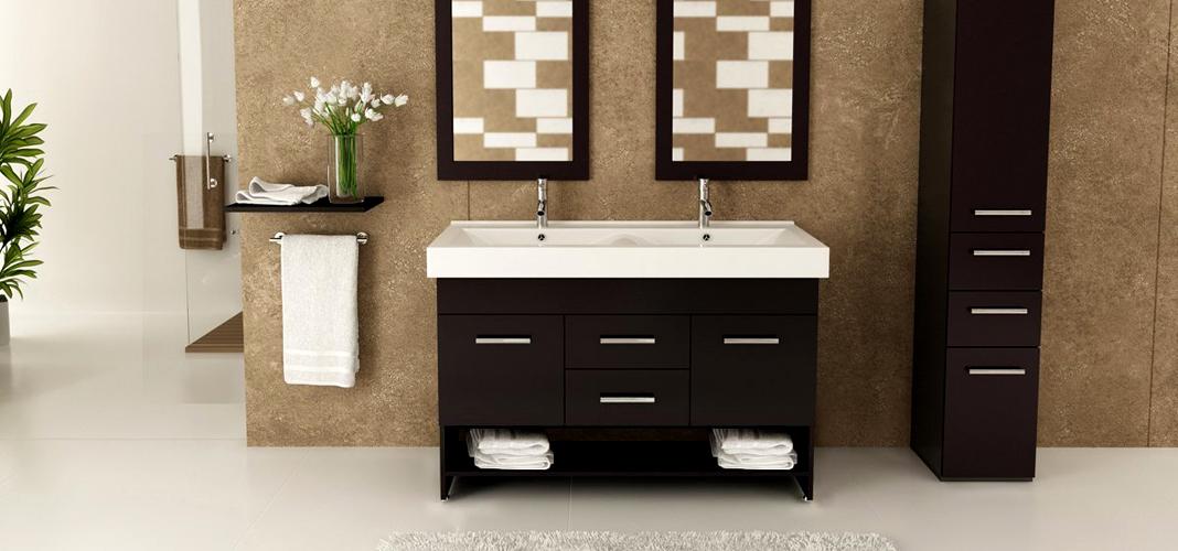 Умывальник с тумбой в ванную комнату