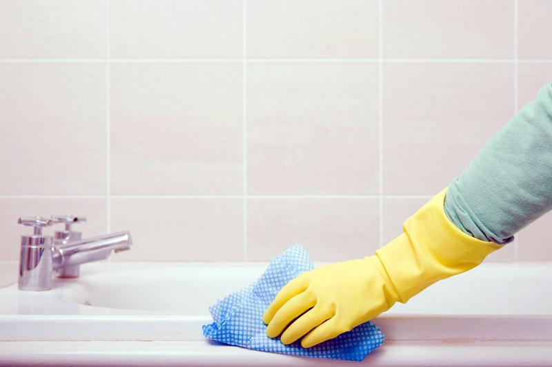 Для уборки можно использовать только мягкие тряпочки