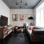 Новинки дизайна натяжных потолков для зала: 32 уникальных фото готовых проектов