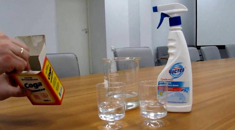 Использовать соду можно только в разведённом виде