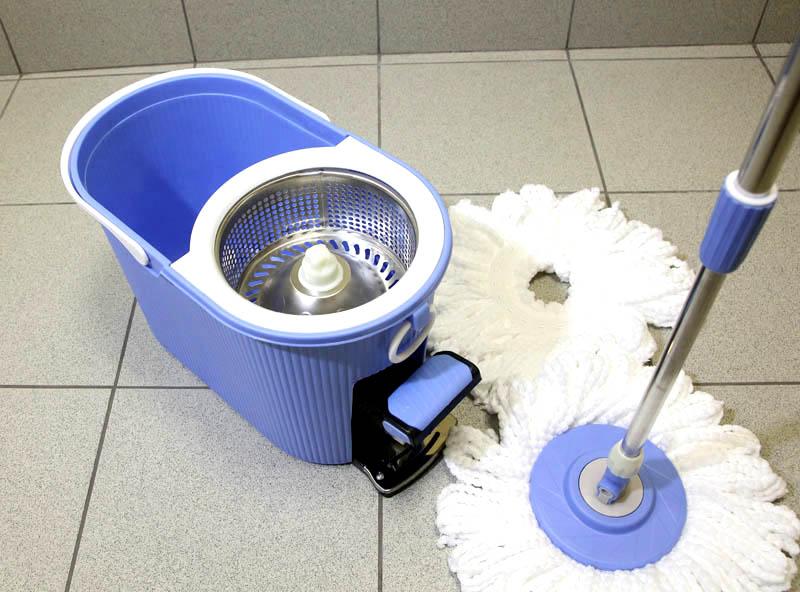 Швабра для мытья пола с отжимом