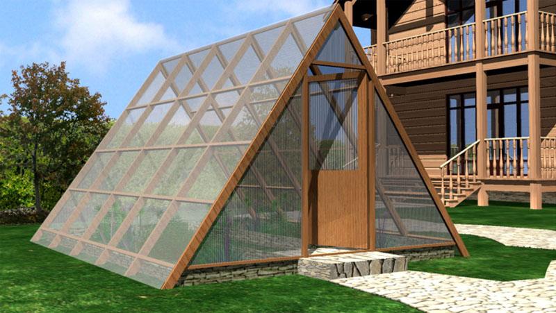 Проект пирамидальной теплицы
