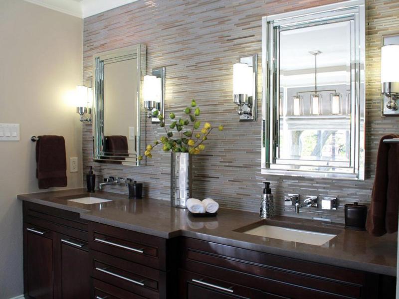 Светильники для подсветки зеркала в ванной