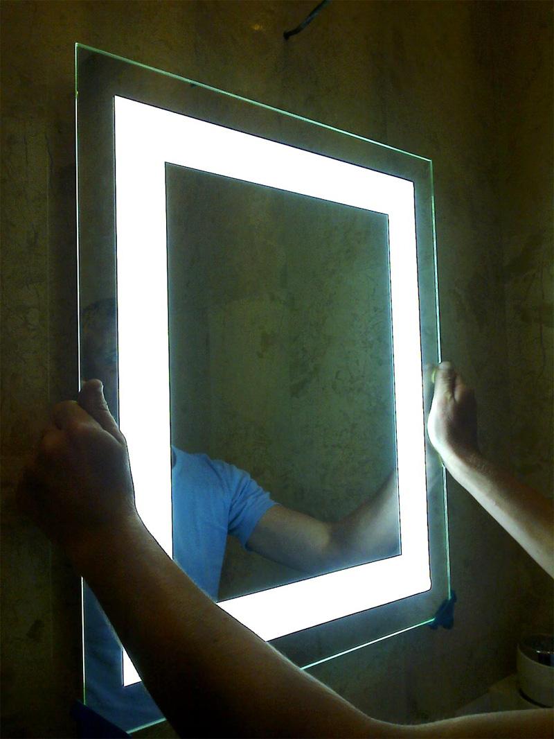 Навешивание зеркал