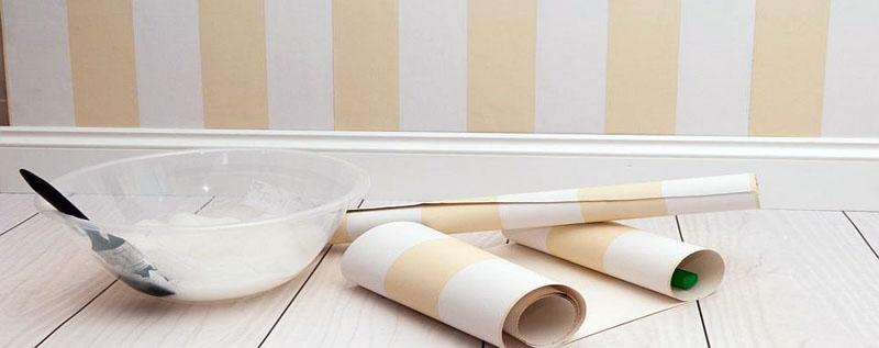 Бумажные обои – «спасательный круг» для недорого косметического ремонта
