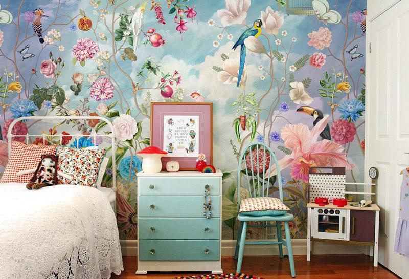Мило и ненавязчиво – идеально для детской комнаты