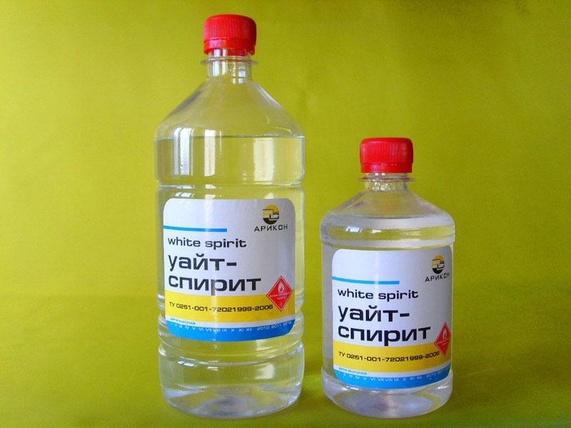 Уайт-спирит – универсальное и практически безотказное средство в борьбе за чистоту от въевшихся строительных растворов