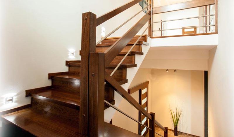 Пристанная компактная лестница