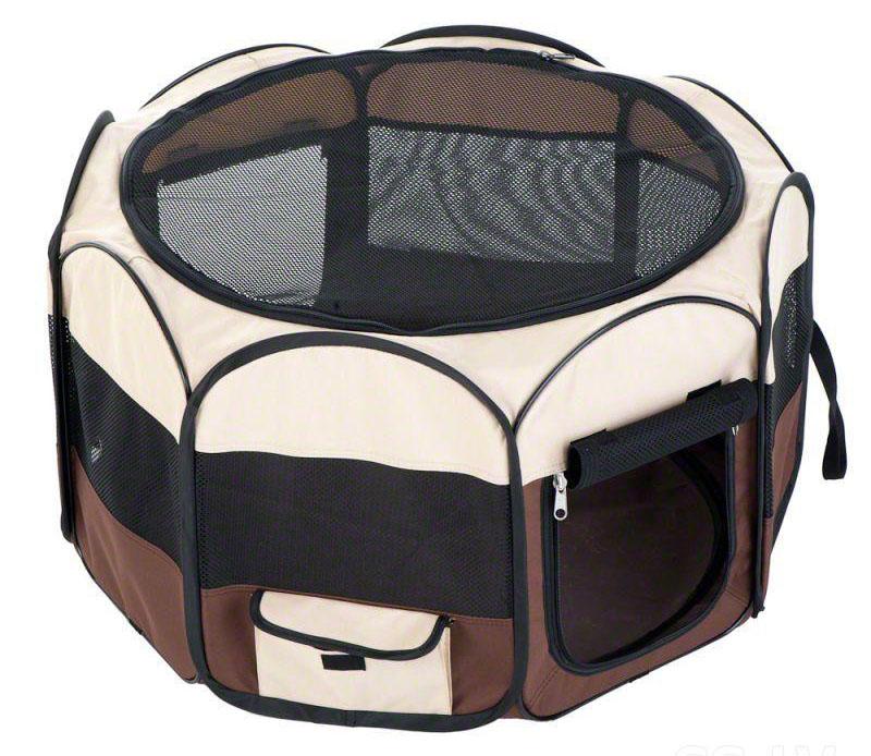 Магазинный текстильный вольер для мелких собак