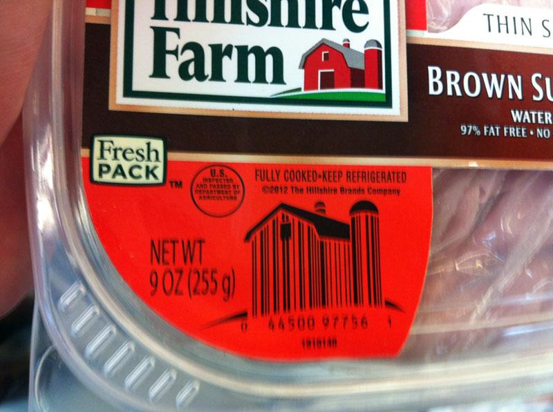 Штрих-коды можно удалить легко с помощью подсолнечного масла