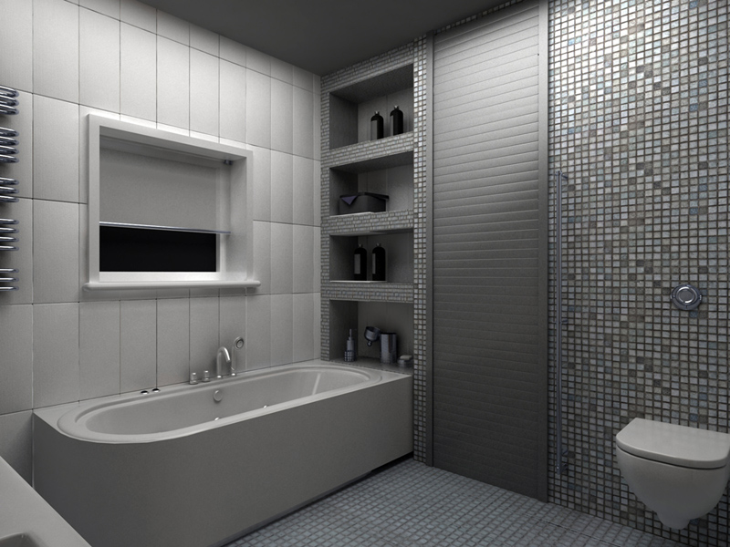 Рольставни над ванной