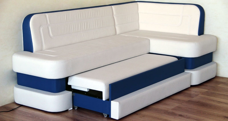 Уголок-диван на кухню со спальным местом