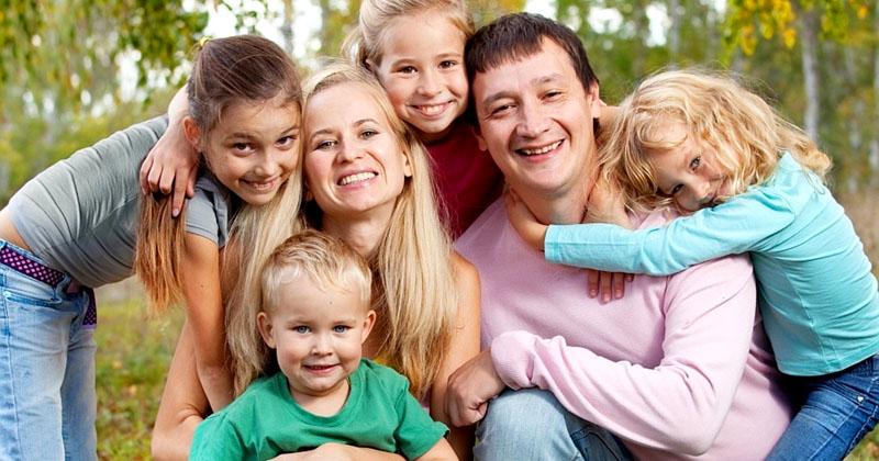 Для многодетных семей дотация на оплату ЖКХ – это большая поддержка