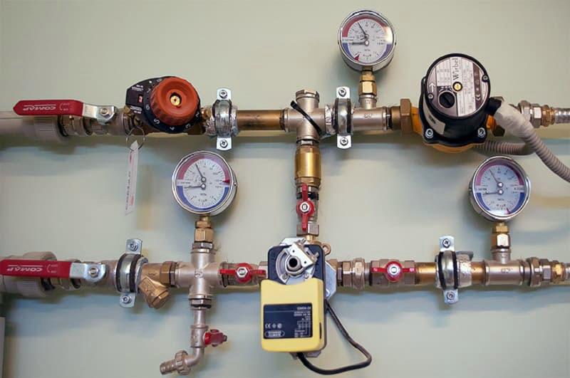 Проверка давления воды
