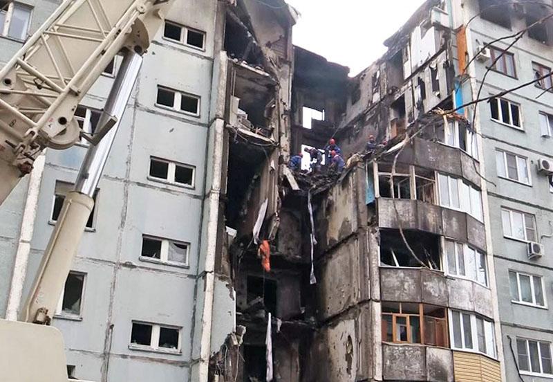 Последствия взрыва бытового газа в многоквартирном доме