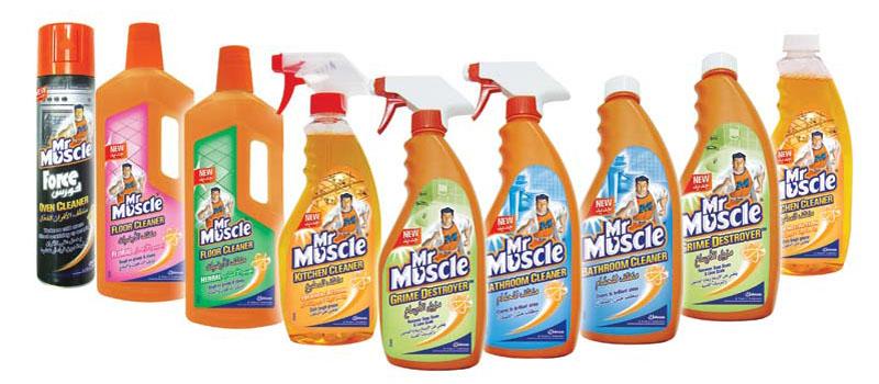 Серия «Мистер Мускул» для очистки любых загрязнений