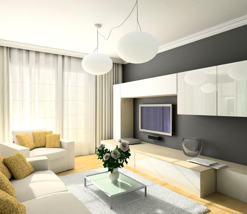 Оформление от «А» до «Я»: современные тенденции дизайна зала в квартире 2018 года