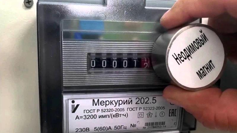 Принцип установки неодимового магнита