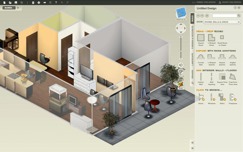 Многие сервисы дополнены виртуальной экскурсией по готовому интерьеру. Проще изменить что-то на этом этапе, чем исправлять после окончания ремонта