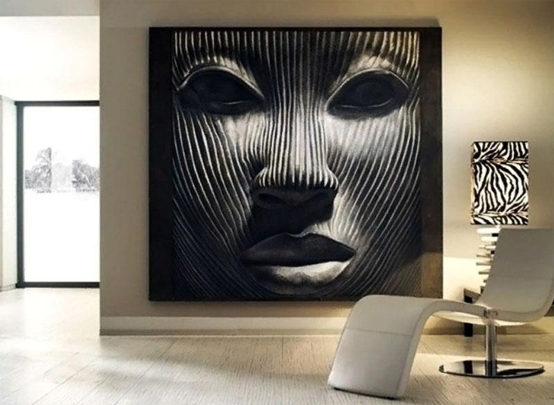 Фреска в современном стиле