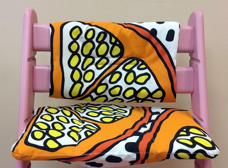 Накладки на стульчик
