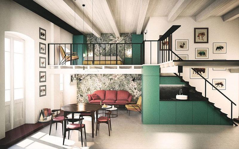 Наличие жилой антресоли в квартире существенно увеличивает полезную площадь