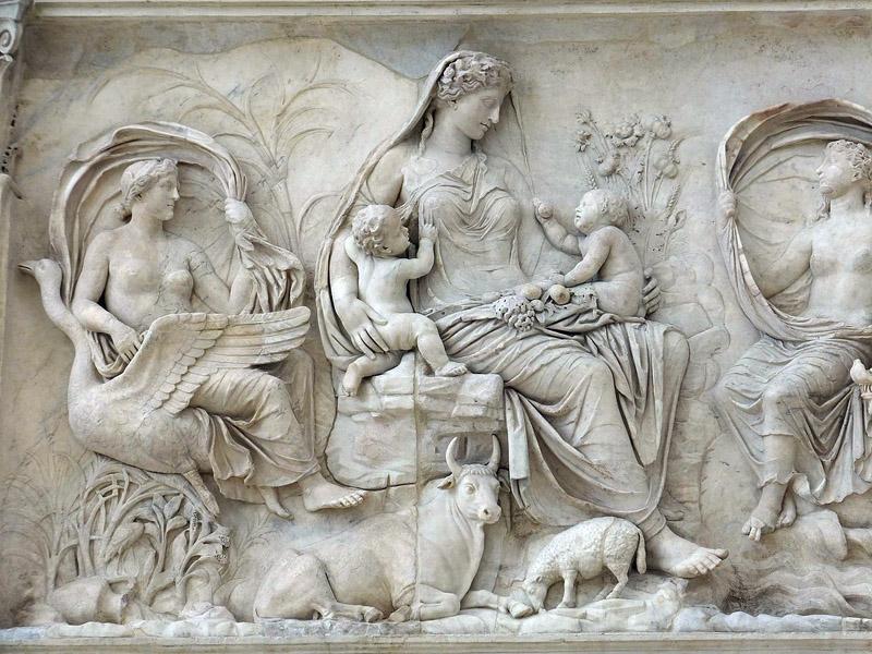 Древнегреческая лепнина