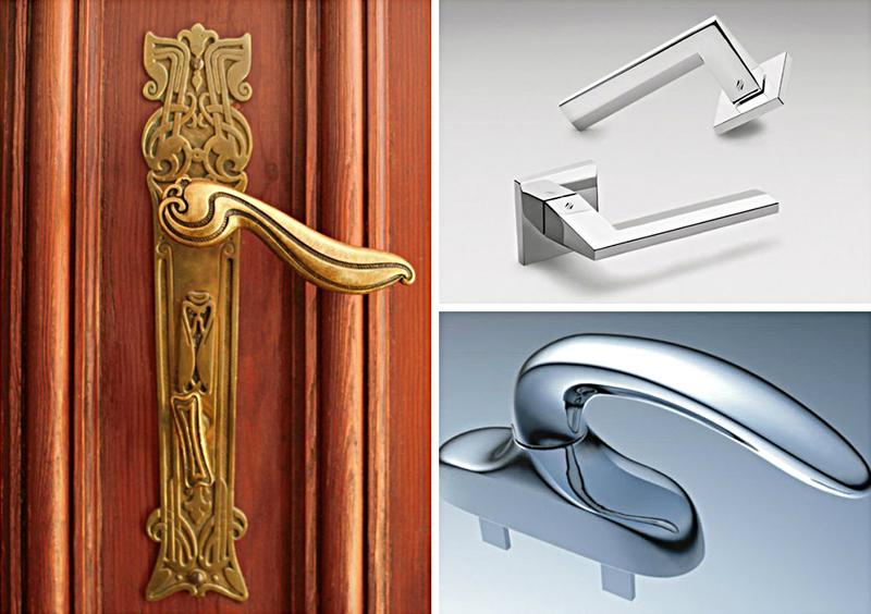 Элитные модели дверных ручек