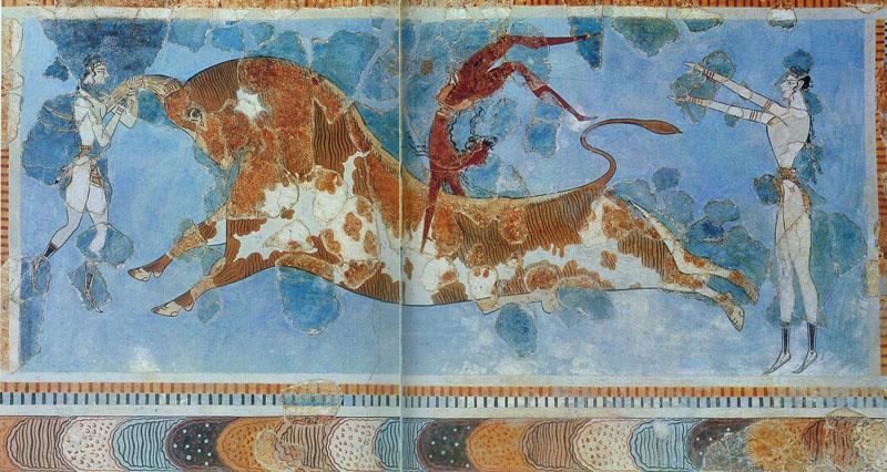 Микенская фреска
