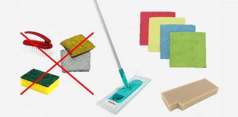 Арсенал для мытья натяжных потолков