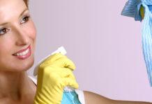 Чем мыть натяжные глянцевые потолки без разводов