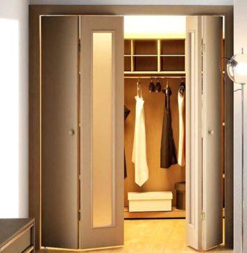 Складные межкомнатные двери книжка: фото, цены