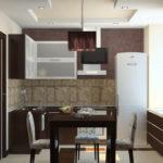 Как рационально использовать маленькую площадь кухни в хрущёвке: 50 фото реальных дизайн-проектов
