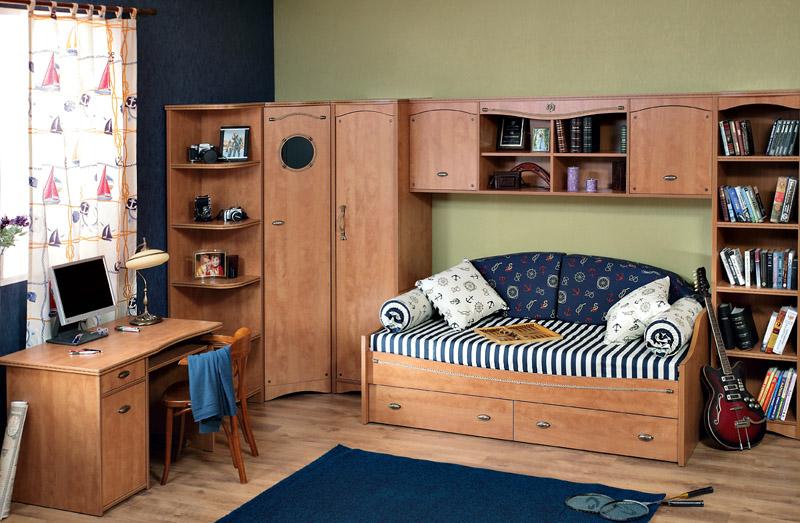 Как правильно выбрать мебель для детской комнаты для мальчика: 45 уникальных интерьеров