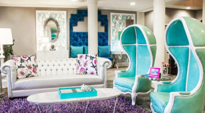 В чём феномен цвета тиффани в интерьере? Фото, раскрывающие тайны влияния интерьера на общую атмосферу жилища
