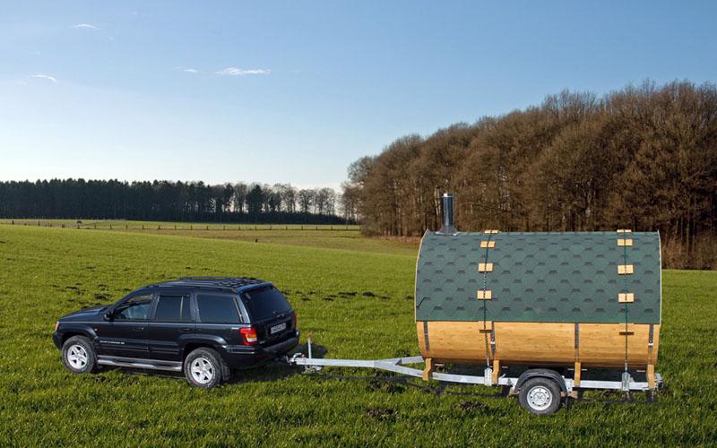 Баня на колесах (38 фото): перевозные парилки своими руками, как сделать мобильную передвижную версию