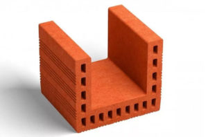 Поризованный кирпич может быть разных размеров и форм