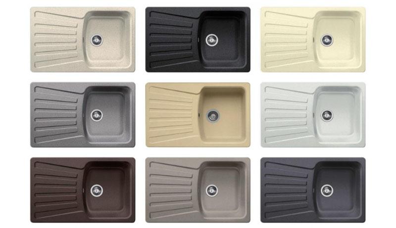 Favos Mini Silgranit – цветовой ряд