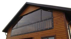 Мягкие окна защитят пространство вашего балкона от осадков, пыли и мусора, а мебель от выгорания
