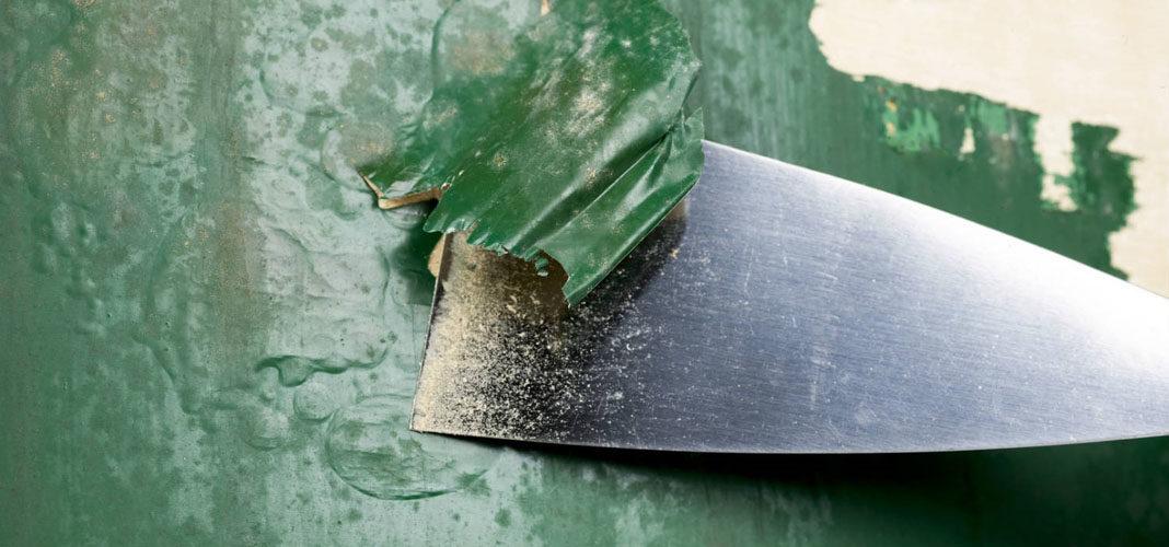 Как удалить старую краску с деревянной поверхности