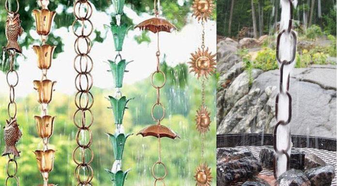 Нескучный восток: как сэкономить на строительстве водостока с помощью дождевых цепей