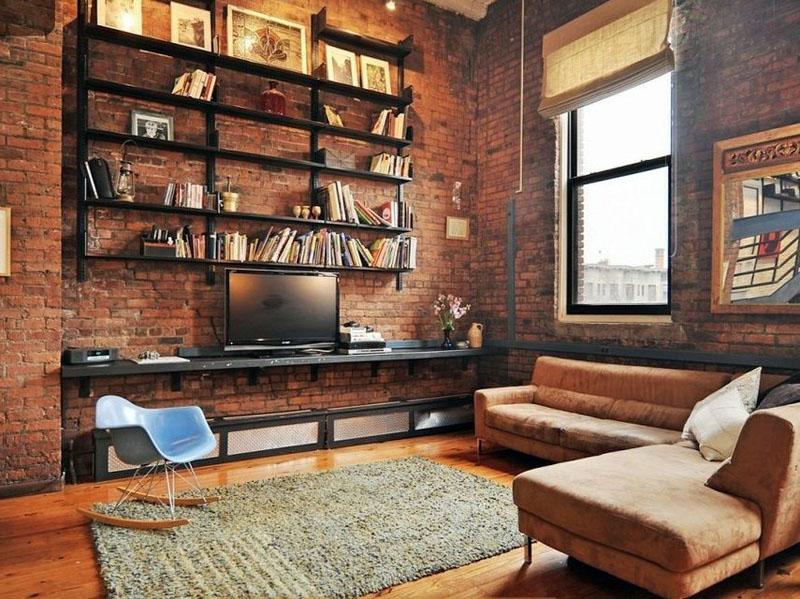 Квартира в стиле лофт: фото