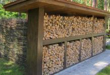 Где и как хранить дрова