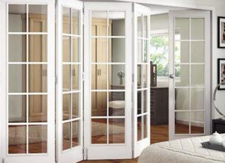 Раздвижные межкомнатные двери-гармошки