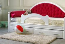 Детская софа-тахта диван с бортиком