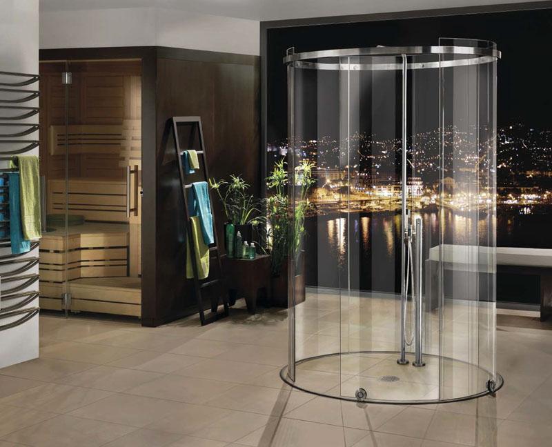 Из стекла можно изготовить криволинейную конструкцию
